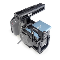 MAGICRIG BMPCC 4K клетка для камеры с ручкой NATO + T5 SSD крепление для карты зажим для Blackmagic Pocket cinema camera BMPCC 4 K/BMPCC 6K