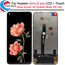 6.26 Per Huawei nova 5i Pro Display LCD Touch Screen Digitizer Assembly SPN AL00 SPN TL00 Per nova 5i Pro lcd