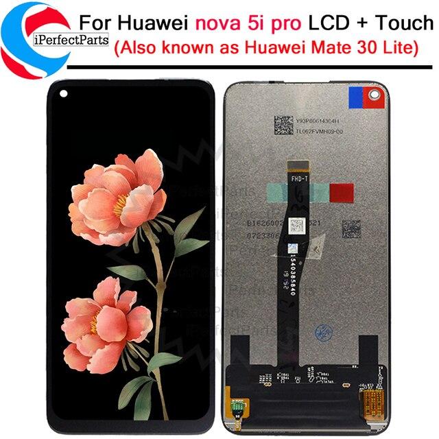 6.26 Per Huawei nova 5i Pro Display LCD Touch Screen Digitizer Assembly SPN AL00 SPN TL00 Per nova 5i Pro lcd