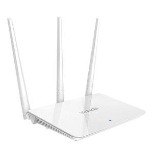 Image 4 - Tenda f3 300mbps 2.4g roteador wifi repetidor, interface inglês 1wan + 3lan portas, para casa pequena e média