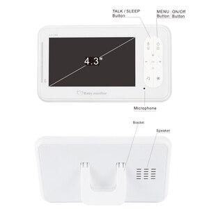 4,3 дюймов беспроводной видео детский монитор 2 способа разговора детский монитор камера VOX режим температуры детская няня камера безопасности