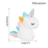 1pcs Pink Unicorn