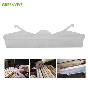 GREENVIVE-paquete de 10 unidades de insectos transparentes para jardinería, sin pesticidas, apicultura