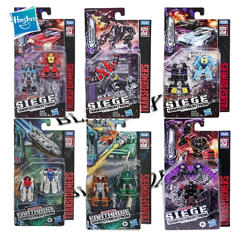 Hasbro Transformers Generations War for Cybertron Siege WFC Series Stunticons Blaster Rumble Soundwave Spy Patrol Transformer