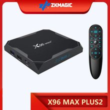 X96 MAX Plus2 Android 9.0 Smart TV BOX Amlogic S905X3 X96MAX 8K HD 1000M 2.4/5.0G Wifi Media Player 4GB 64GB 32GB Android TV BOX