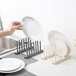 Пластиковый стеллаж для посуды, полка для горшков, полка для горшков, держатель для ножей Кухня, принадлежности, стеллаж для хранения, стелл...