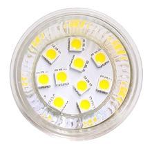 2 יח\חבילה Dimmable G4 הנורה MR16 10Led הנורה SMD הנורה BI PIN Led מנורת אור 112V 24V לבן חם לבן