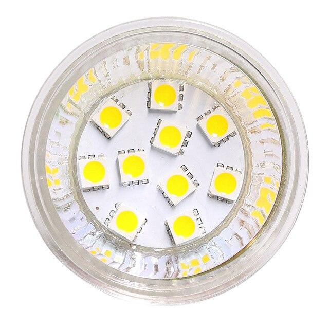 2pcs/lot Dimmable G4 Bulb MR16 10Led Bulb SMD Bulb BI PIN Led Lamp Light 112V 24V White Warm White