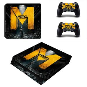 Image 5 - 메트로 Exodus PS4 슬림 스킨 스티커 데칼 비닐 Dualshock 플레이 스테이션 4 콘솔 & 컨트롤러 PS4 슬림 스킨 스티커 비닐