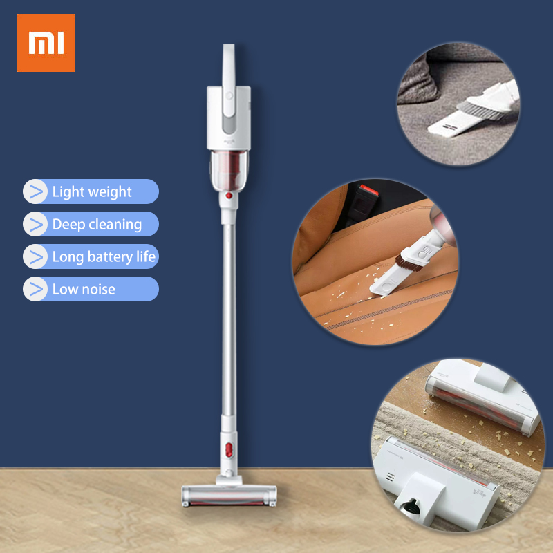 Deerma VC20 XIAOMI MIJIA Hand Held Wireless Vacuum Cleaner ABS/PC For Home Car Dust Collector Household Multifunctional