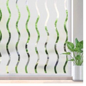 LUCKYYJ pellicole per vetri per Privacy adesivo statico autoadesivo adesivo in vetro luminoso o oscurante per ufficio, decorazione soggiorno