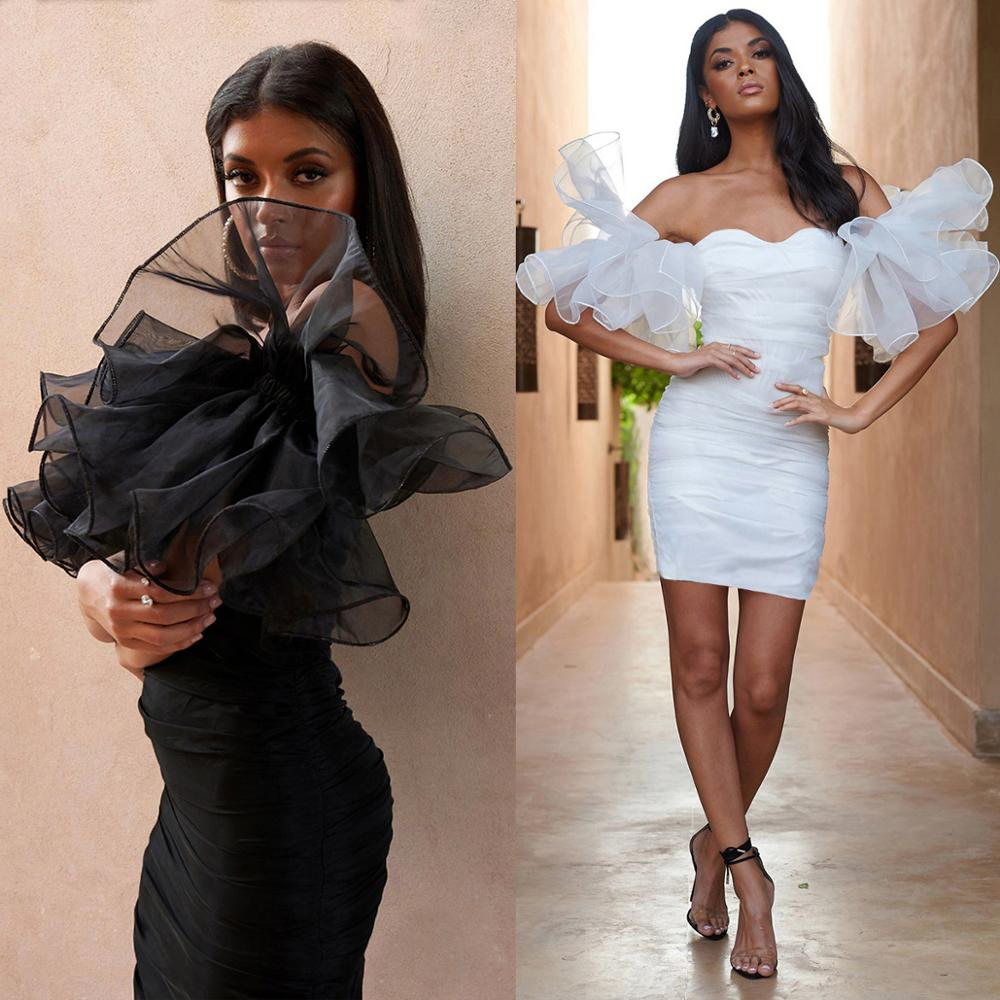 Sexy Big Stretch   Cocktail     Dresses   Short Mini Women White Black Party   Dress   Gown Homecoming   Dress   ESAN337