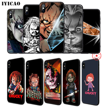IYICAO Charles Lee Ray Chucky Doll Soft Phone Case for iPhone 11 Pro XR X XS Max 6 6S 7 8 Plus 5 5S SE Silicone TPU