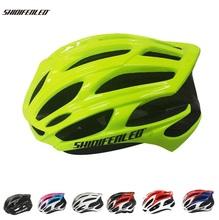 Nowi mężczyźni kask rowerowy kask na rower górski kask rowerowy kask na rower górski kask rowerowy kaski rowerowe 56-61 tanie tanio (Dorośli) mężczyzn CN (pochodzenie) 210g 8-15 Formowane integralnie kask new hot helmet