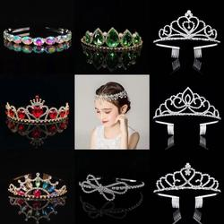 The princess crown, the bride's hair, the girl's birthday party gifts stage catwalk show headwear