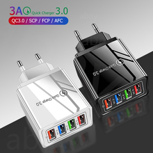 USB Charger Quick Charge 3.0 4.0 for Phone Adapter for iPhone 11 Tablet Portable