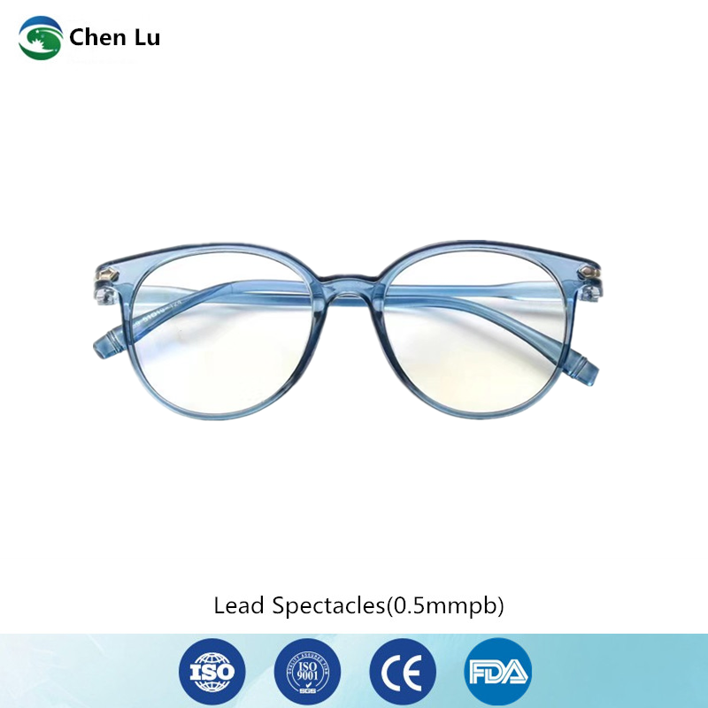 Hot Sale Gamma Ray And X-ray Protective Glasses Medical Uses Of Ionizing Radiation Protection 0.5mmpb Lead Spectacles