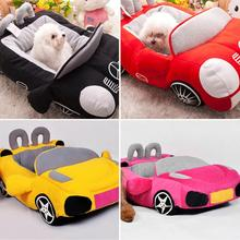 Cool Pet Dog Bed Fashion Car Shape Cat Nest Soft Puppy House Warm Cushion For Teddy Chihuahua Kennels Kitten Padded Sofa