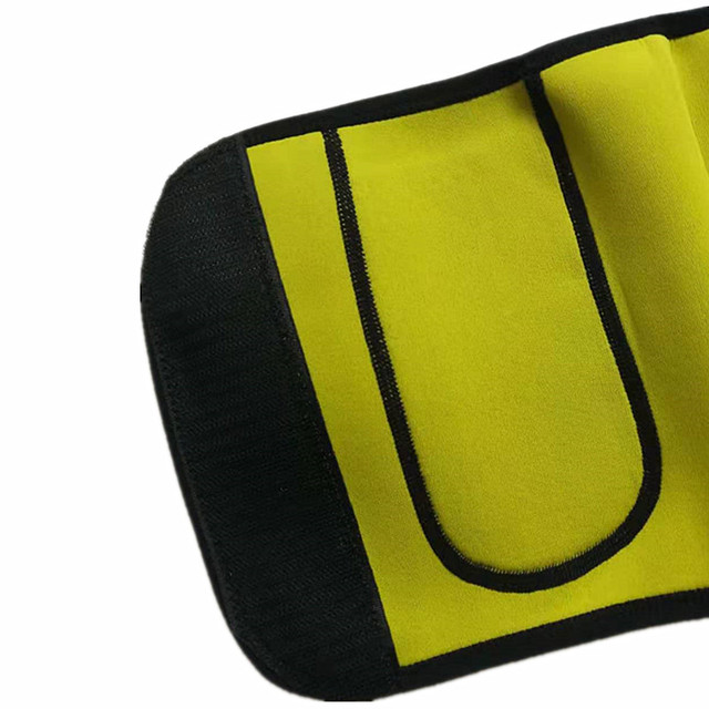 Premium Neoprene Waist Trimmer Belt Heat Sweat Slimming Body Shaper modeling belt Fat Burner waist trainer for Women underwear 4