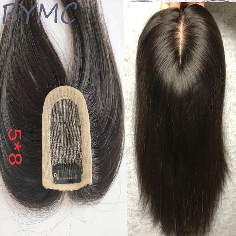 de seda cabelo topper peruca hairpieces para