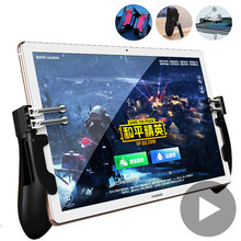 Para Tablet Android iPad controlador de disparo de Control libre de fuego juego Pubg Joystick Gamepad teléfono celular Smartphone teléfono móvil 6 dedo