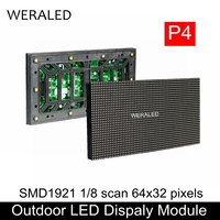Outdoor P4 SMD Voll Farbe LED Video Wand Modul 256*128mm 64*32 Pixel P4 Outdoor LED schild RGB Panel Einheit Led modul-in LED-Module aus Licht & Beleuchtung bei