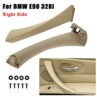 Right Side Outer&Inner Door Panel Pull Handle Trim Cover For BMW E90 328i Beige ABS+PC For Auto Parts|Interior Door Panels & Parts| |  -