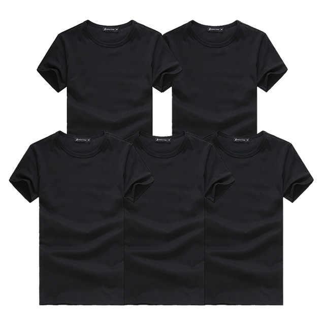 2020 yeni 5 adet basit T-shirt yaratıcı tasarım hattı katı pamuk T shirt erkek yeni varış kısa kollu erkek dropshipping