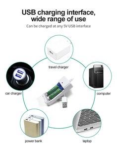 Image 5 - PHOMAX USB 2 yuvaları 1.2V taşınabilir hızlı hattı ile şarj edilebilir aa aaa pil şarj cihazı 2 adet Ni MH/ni cd pil atkı LED şarj cihazı