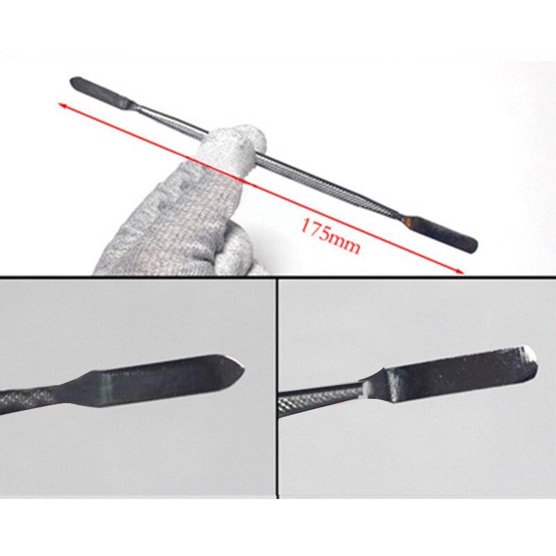 Купить с кэшбэком 3 Pcs Metal Spudger Scraper Professional Mobile Phone Tablet PC Metal Disassembly Rods Repairing Tools Set