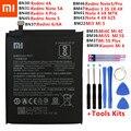 Xiao Mi Оригинальный аккумулятор для телефона Xiaomi Redmi Note 4 4X 3 3S 3X 4X 4A 3 pro 5 5A 6 6A Pro Mi4C Mi 5X Mi 5 Mi5 M5 Mi6 батареи