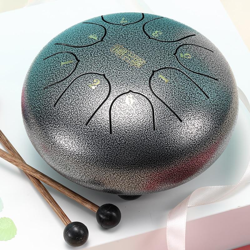 de aço tambor mini mão pan tambor