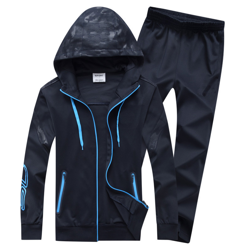 Sports Clothing South Korean Silk Leisure Sports Suit Fashion & Sports Set MEN'S Sportswear Jogging Suits