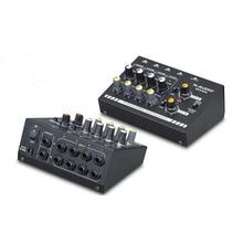 Audio Sound Mixer audio mixer Compact 8-Channel Mono / Stereo Audio Line Mixer with Power Adapter EU