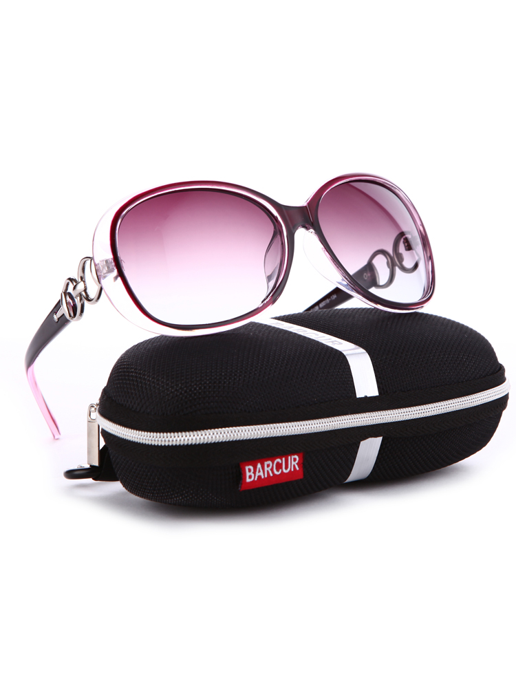 BARCUR Polarized Sunglasses Oculos-De-Sol Female Vintage Designer Women Brand Gafas Masculino