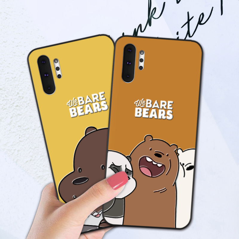 Soft Cover Fundas <font><b>Case</b></font> For <font><b>Samsung</b></font> Galaxy <font><b>Note</b></font> 8 <font><b>9</b></font> 10 Pro S8 S9 S10 Plus S10E 5G S11 3D Cartoon <font><b>Funny</b></font> Back Cover image