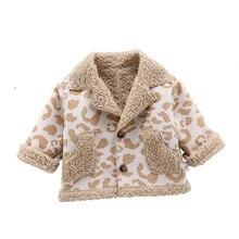 Модная весенне Осенняя детская одежда с принтом бархатная утепленная