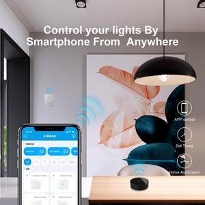 Image 3 - Livolo EU Standard Zigbee smart wifi Wall Touch light switch,APP wireless control,work google home,Alexa,echo,timer function
