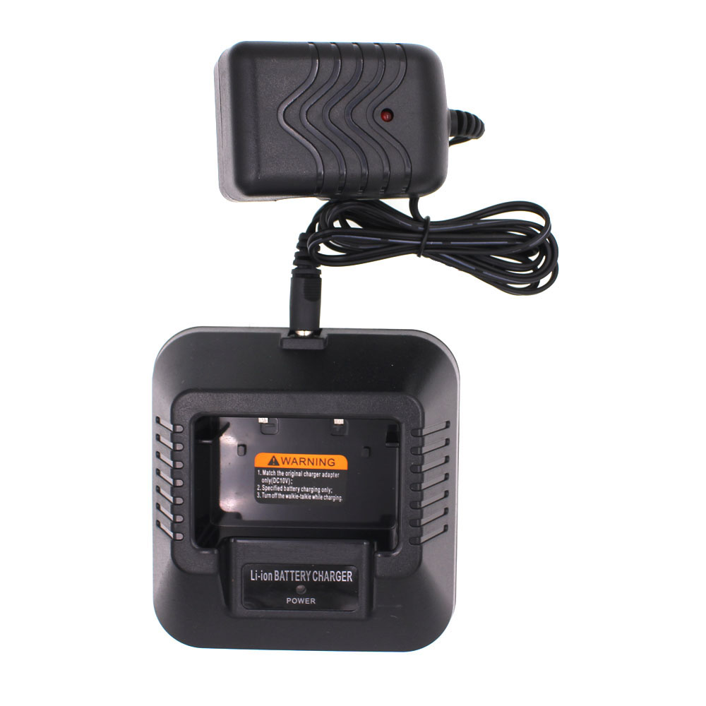 Original Charger For BAOFENG UV-5R DM-5R UV-5RA UV-5RB Series Two Way Radios Power Adaptor And Desktop For BL-5 Li-ion Battery
