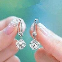 Silver Zirconia Earrings 2