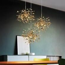 Подвесная лампа в скандинавском стиле креативный светильник