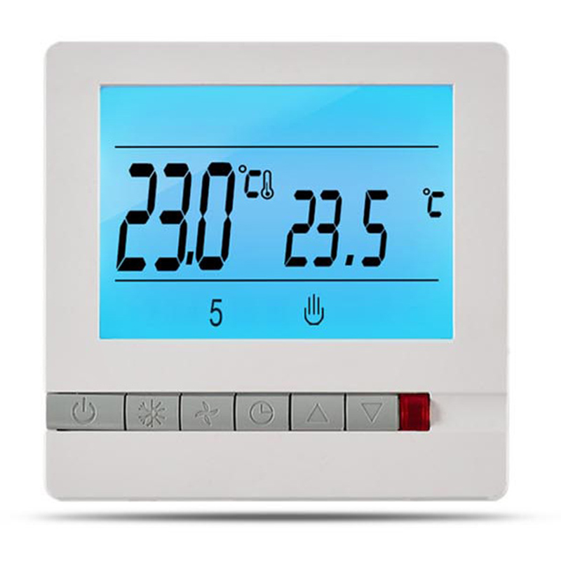 16A 230V Electric Floor Heating Thermostat Temperature Controller Instrument Programmable Thermostat LCD Display Screen Electric