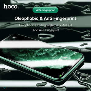 Image 4 - Hoco capa completa de vidro temperado para iphone 11 pro max xs max protetor de tela 3d de proteção para iphone xr x caso protetor