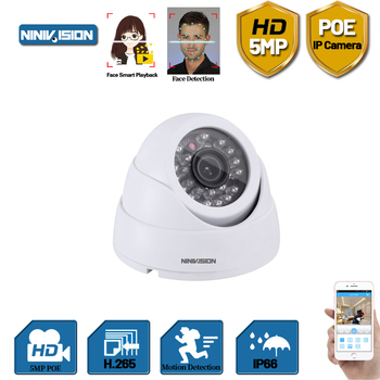 3.6mm Wide Angle H.265 indoor outdoor Dome Camera Security 5MP FULL HD POE IP Camera IR Cut Filter 24 IR LED ONVIF Motion Detect wide angle 5mp dome ip camera indoor 180 degree fish eyes h 265 network home security onvif ip poe cctv cameras p2p 20m ir