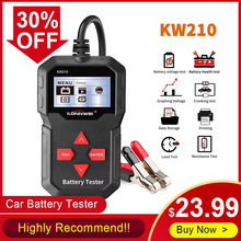 Universal Car Diagnostic Tool KONNWEI KW210 12V Automotive Car Battery Tester Di
