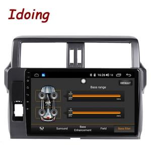 """Image 3 - Idoing 10.2 """"2.5D 4G + 64G Android araç radyo multimedya GPS oynatıcı Toyota LAND CRUISER PRADO için 150 2013 2017 DSP hiçbir 2DIN DVD"""