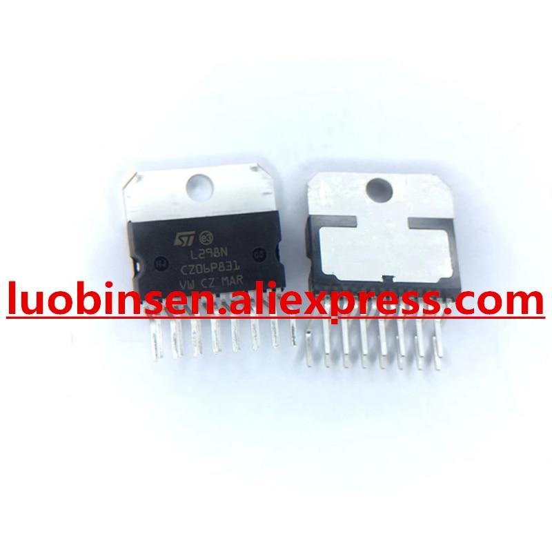10 PCS L298N ZIP-15 L298 DUAL FULL-BRIDGE DRIVER