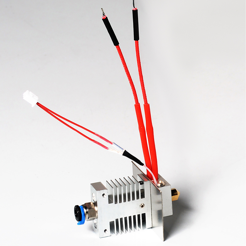 Geeetech 1 in 1 out Hotend Kit For A10 A20 A30 A30 Pro 3D Printer Avoid Clogging 1 75mm Filament 0 4mm Nozzle Extruder