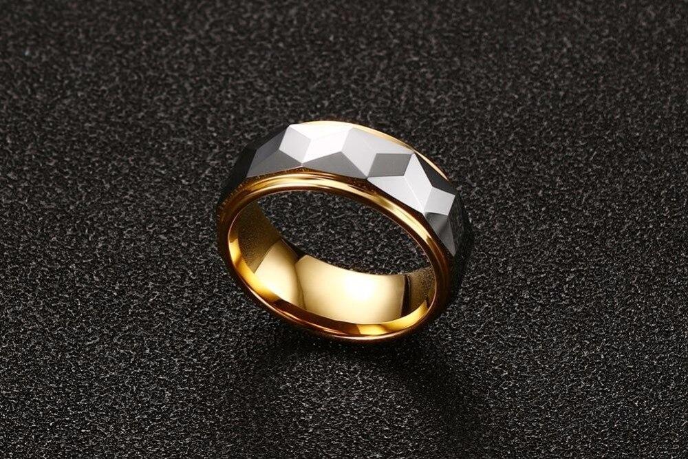 Mens Tungsten steel Rings wedding bands 19