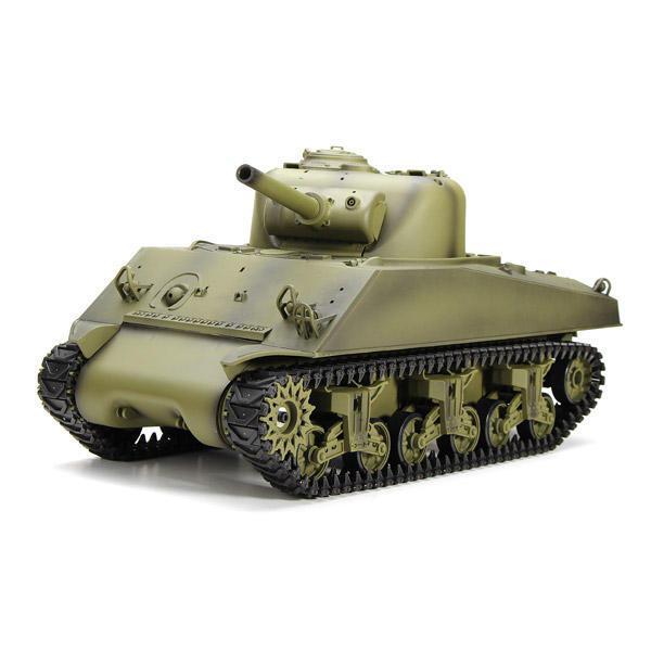 RCtown Heng Long 3898-1 2.4G 1/16 US Sherman M4A3 Radio Control Battle Car